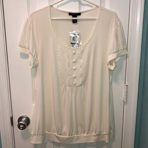 Style & Co. Short Sleeve Dress Top